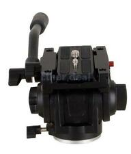 Lightweight Pro Fluid Tripod Mini Head with QR Plate for Manfrotto 701HDV