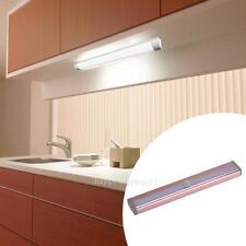 10 LED Wireless PIR Motion Sensor Wardrobe Night Cabinet Light Under Closet Lamp