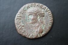 ANCIENT ROMAN BRONZE CLAUDIUS AS COIN 1st CENTURY AD CAESAR