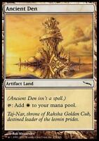 1x ANCIENT DEN - Rare - Mirrodin - MTG  - NM - Magic the Gathering