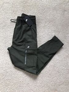 🔥NWT NIKE NSW SPORTSWEAR OLIVE GREEN ARMY CARGO PANTS MENS XS TAPERED JOGGERS