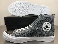 Converse Chuck Taylor All Star X Flyknit Mens SZ 8  Black / Wolf Grey  157510C