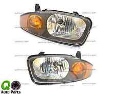 New Pair Set Headlight Headlamp Housing Assembly DOT 03-05 Chevy Cavalier