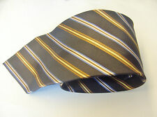 London Road Brown With A Multi Coloured Design Mens Tie