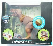 Animated Remote Control RC T-Rex Dinosaur The Black Series NEW SEALED