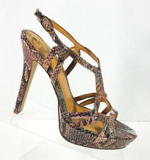 1fd85e781b8d BCBGeneration BG-Angel Snake Print Stiletto Platform Pumps Heels Women s  Size 7B