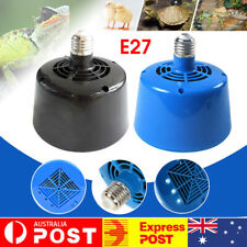 Cultivation Heating Lamp Thermostat Fan Heater For Chicken Pigs-Egg Incubator AU