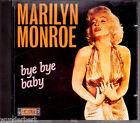 """CD - """" Marilyn MONROE - bye bye baby """""""