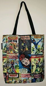 Black Widow EXCLUSIVE Marvel Comics X-Men Vs. Avengers - Tote Bag - LIMITED