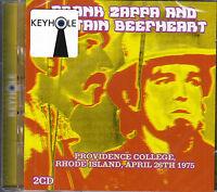 FRANK ZAPPA AND CAPTAIN BEEFHEART providence college rhode island ..2CD NEU OVP