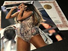 Ariana Grande Hand Signed Authentic Autograph 10x8 Photo & COA