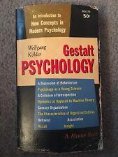 Gestalt Psychology