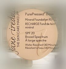 Jane Iredale PurePressed Base Mineral Foundation SPF20 Refill Natural .35oz
