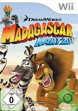 NINTENDO Wii Wii-U Madagascar Kartz Top Zustand