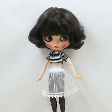 1/6 Lovely Clothing Striped 4pcs Outfit for 12'' Blythe Dolls Accessories
