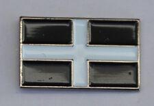 Cornish Flag Cornwall Kernow Quality Enamel Lapel Pin Badge