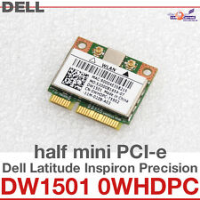 Wi-Fi WLAN WIRELESS CARD NETZWERKKARTE DELL MINI PCI-E DW1501 0WHDPC BCM NEW D33