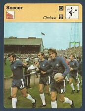 SPORTSCASTER-1978-EDITIONS RENCONTRE-CHELSEA TEAM CELEBRATING FA CUP WIN 1970