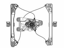 2010-2011 Chevy Equinox/GMC Terrain Driver Side Front Power Window Regulator