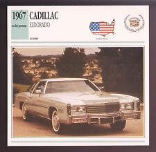 1967-1991 Cadillac Eldorado (1977 2-Door) Car Photo Spec Sheet Info Stat CARD