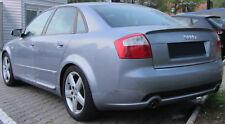 Audi A4 B6 S4 Rear Boot Trunk Spoiler S-Line Look