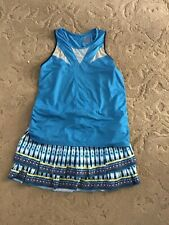 Women's Lucky in Love tennis outfit, Top L, skirt M