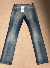 NEW Women's Diesel Faithlegg 0813J Regular Straight Jeans W27 L32 (1146)