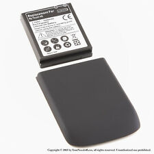 3500mAh Extended Battery for HTC MyTouch 4G Black Cover