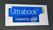 Ultrabook Inspired By Intel Blue Edition Sticker 13 x 30mm Badge Logo
