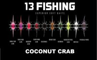 13 Fishing COCONUT CRAB Superior Soft Baits (6 Per Pack) CHOOSE YOUR COLOR