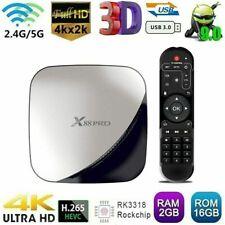 X88 PRO Smart Android 9.0 TV Box RK3318 Quad Core 4K 2GB+16GB WiFi HD Media B2T2