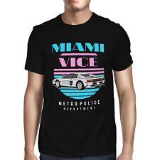 1Tee Mens Miami Vice Var  T-Shirt
