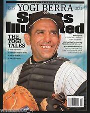 Sports Illustrated 2015 New York Yankees Yogi Berra Tribute Newsstand Issue NR/M