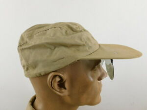 NICE WW 2 US NAVY PILOT'S SUMMER HAT W/ SUNGLASSES ATTACHED TO VISOR, SIZE 6 7/8