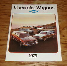Original 1979 Chevrolet Wagon Sales Brochure 79 Chevy Impala Monza Malibu