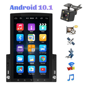 Android 10.0 Vertical 9.7In Touch Screen HD Car Radio GPS Wifi Player w/Camera