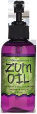 INDIGO WILD, ROSEMARY MINT, ZUM Massage & Body Oil - 4 fl. oz. Pump Bottle
