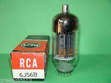 "RCA 6JS6B Vacuum Tube Very  Strong ""B""  Results = 8760"