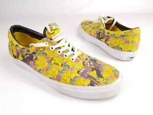 Vans Era x The Beatles Yellow Submarine Garden Limited Sneakers Shoes Mens 10.5