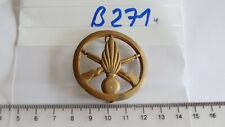 Frankreich Barettabzeichen Metall 1 Stück (B271)