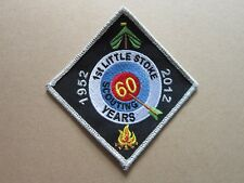 1st Little Stoke 60 Years Cloth Patch Badge Boy Scouts Scouting L3K D
