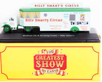 "DIE CAST MODEL CIRCO "" Bedford OX & Booking Trailer "" SCALA 1/76 ATLAS  (103)"