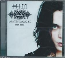 HIM - And Love Said No [Greatest Hits 1997-2004] CD + DVD NEW/SEALED