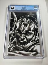 Thor #12 CGC 9.8 Mico Suayan Sketch Cover Virgin Variant B & W Silver Surfer!