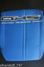 AXS Universal Size Fitted Seat Covers Front Pair - Blue