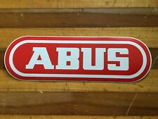 ABUS - Bicycle Cycling Sticker Decal