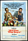 ALL THE WAY BOYS 1972 Terence Hill, Bud Spencer US 1-SHEET POSTER