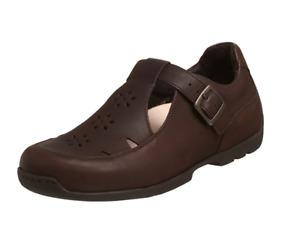 Footprints By Birkenstock Women's Beverly T-Strap Flat Shoe, Chocolate