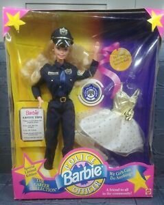 Limited Edition Police Officer Barbie