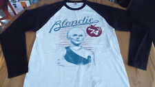 BLONDIE - Debbie Harry Long Sleeve T-Shirt Size Medium.New.Punk,Ramones,NY Dolls